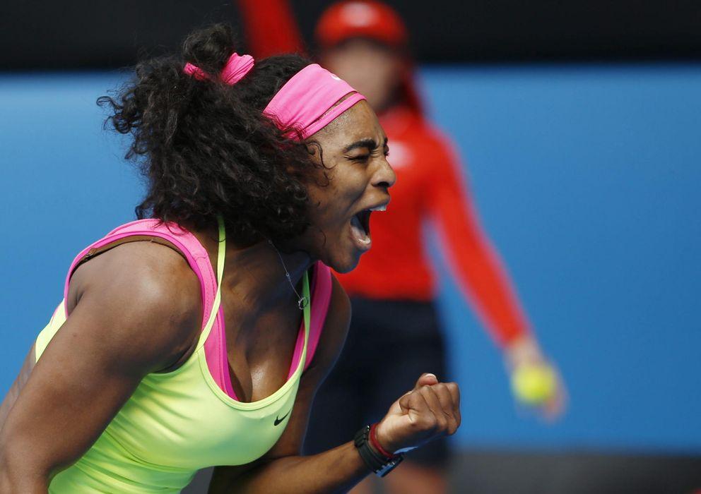 Foto: La tenista estadounidense Serena Williams durante el US Open (EFE)