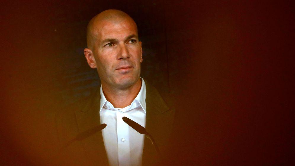 Foto: Zinedine Zidane. (Reuters)