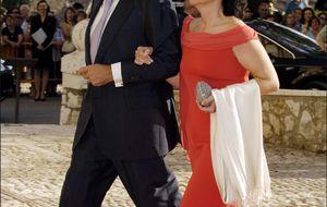 Ignacio Sánchez Galán casa a su hijo Nacho en Ciudad Rodrigo