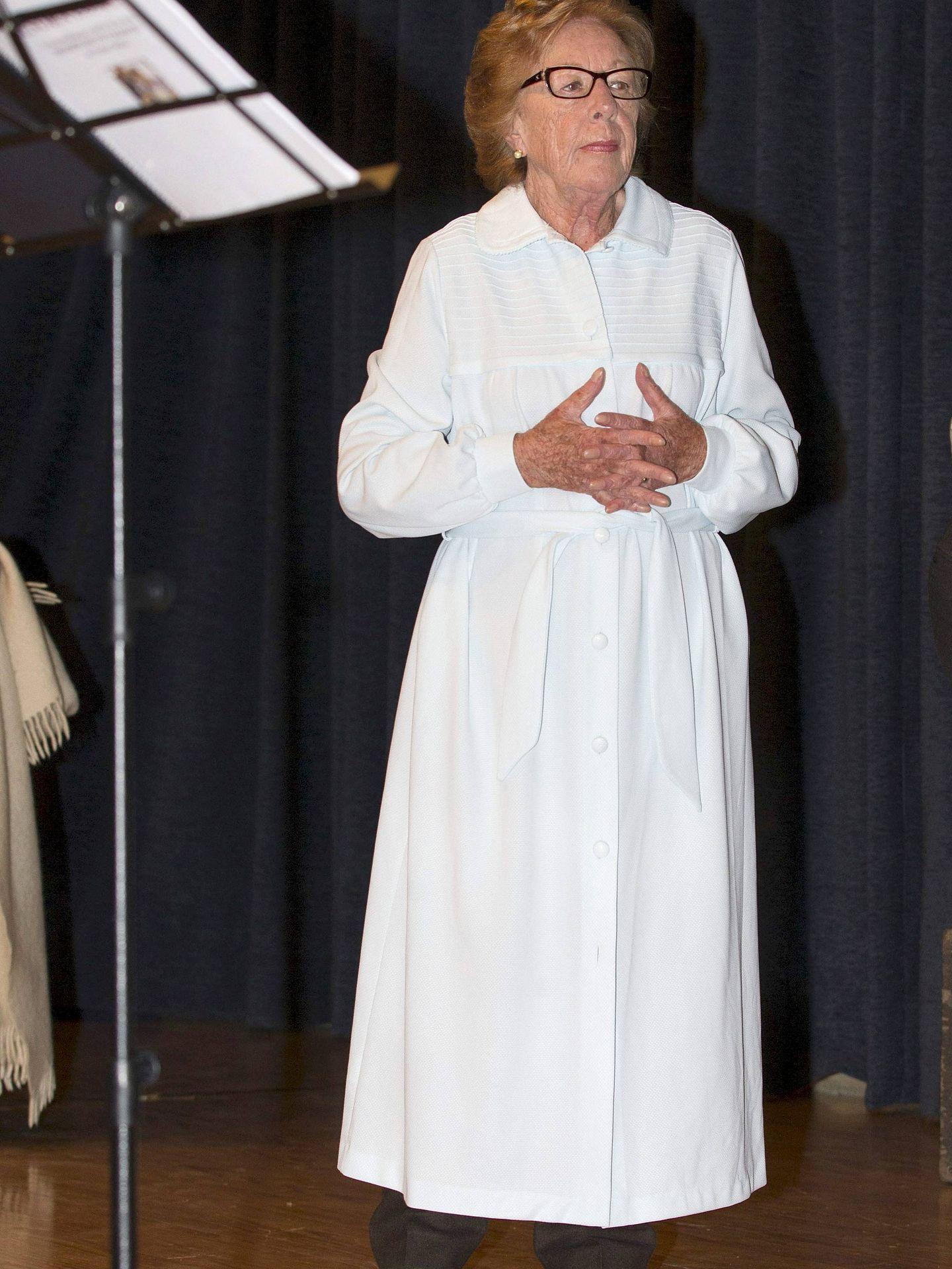 La abuela paterna de la Princesa de Asturias, Menchu Álvarez del Valle. (EFE)