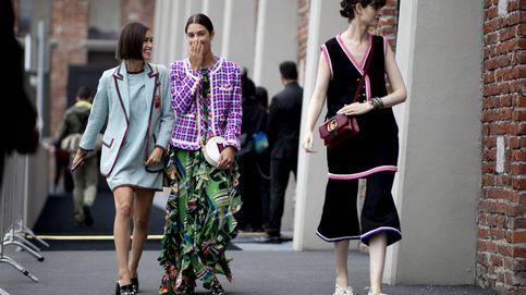 El look estampado más arriesgado está en las calles de Milán y te va a conquistar