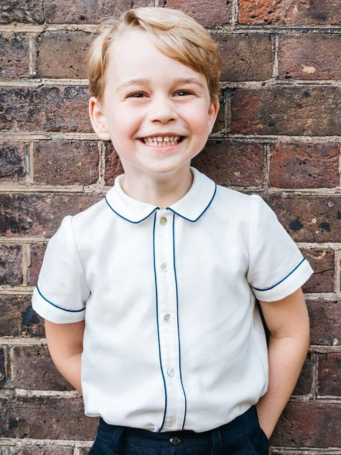 El príncipe George en una imagen de archivo. (Kensington Palace)