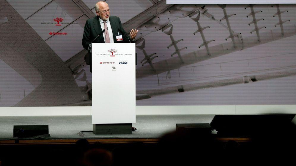 Foto: Juan Roig, en su intervención en el XXI Congreso del Instituto de la Empresa Familiar. (EFE)