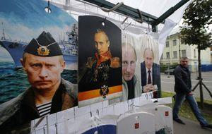 Los rusos cruzan la frontera para comprar comida por el embargo
