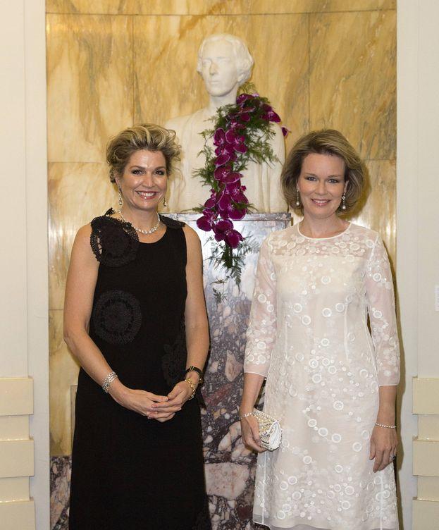 Foto: Las reinas de Holanda y Bélgica (Gtres)