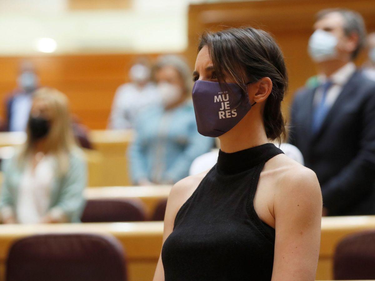 Foto: Irene Montero llevará a la Fiscalía los comentarios del 'tiktoker' Naim Darrechi. Foto: Efe