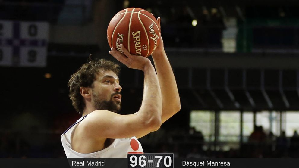 Sergio Llull lidera la victoria del Real Madrid con 24 puntos en 16 minutos