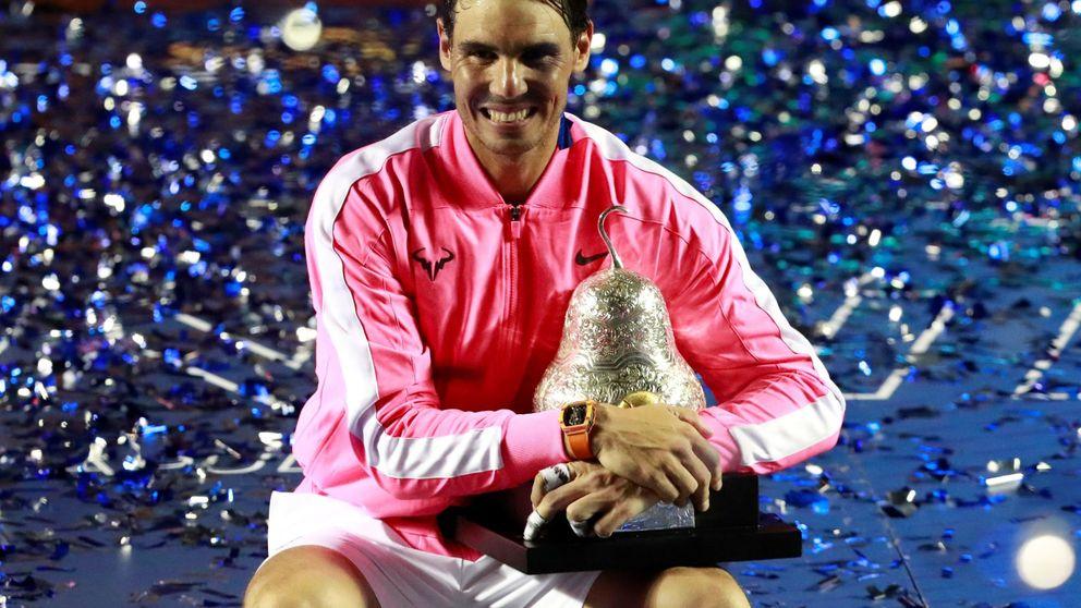 El título que necesitaba Rafa Nadal en Acapulco tras un inicio de año saturado