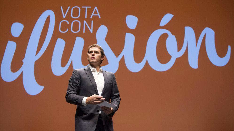 Foto: El candidato de Ciudadanos a la Presidencia del Gobierno de España, Albert Rivera. (EFE)