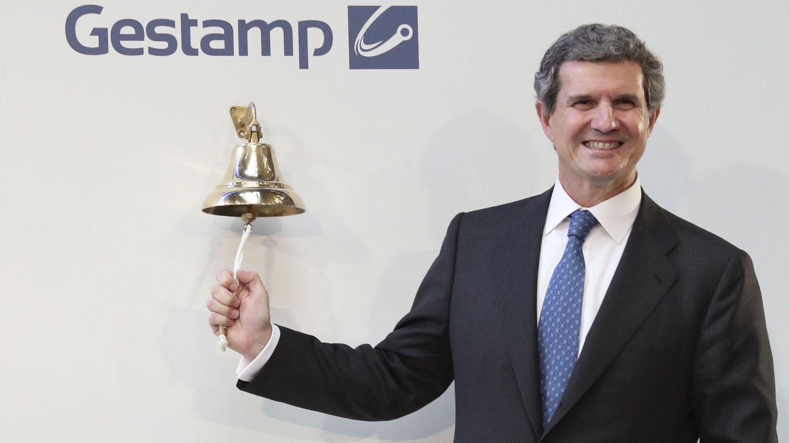 Foto: El presidente y consejero delegado de Gestamp, Francisco J. Riberas. (EFE)