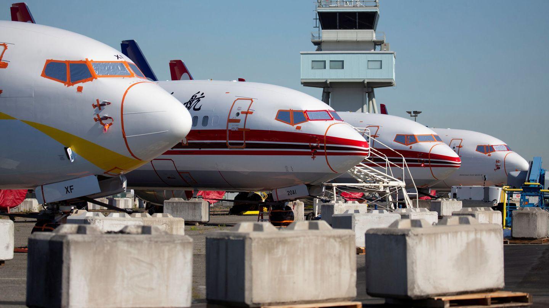 Varios 737 en Seattle, Washington. (Reuters)