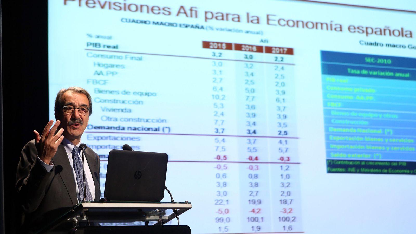 Foto: El presidente de Analistas Financieros Internacionales (AFI), Emilio Ontiveros. (EFE)