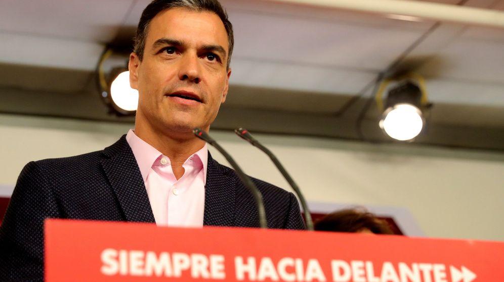 Foto: El líder del PSOE, Pedro Sánchez