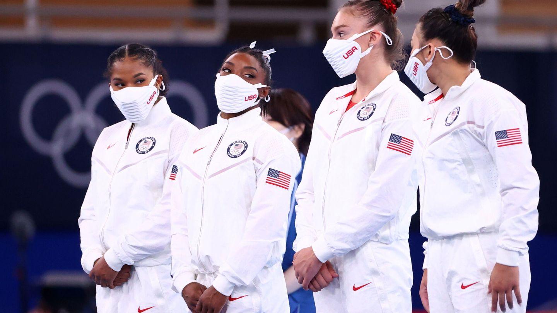 EEUU acabó en segunda posición en el concurso por equipos, por detrás de Rusia. (Reuters)