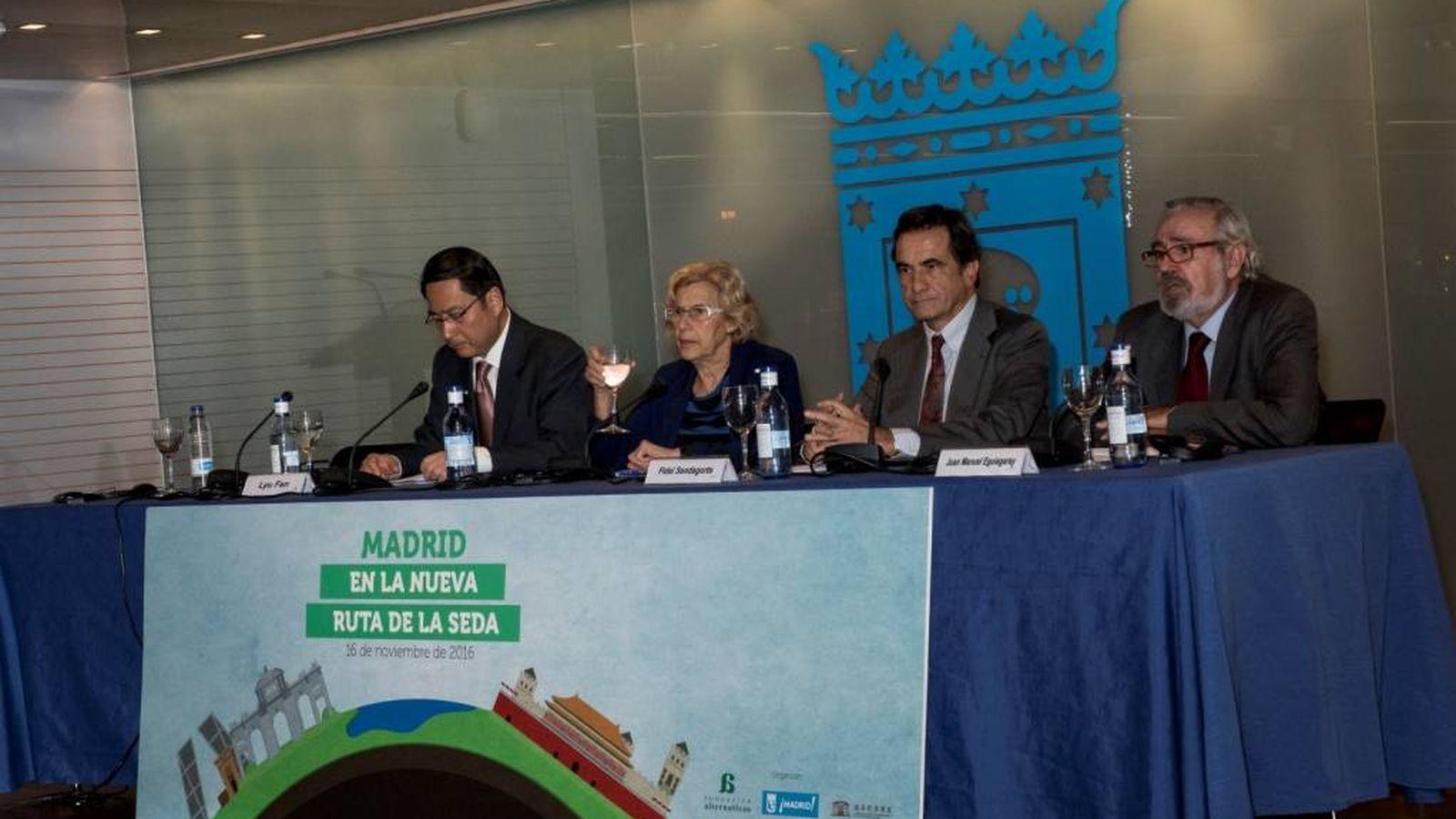 Foto: El seminario de 'Madrid en la nueva Ruta de la Seda' organizado por Fundación Alternativas. (Foto: Fundación Alternativas)