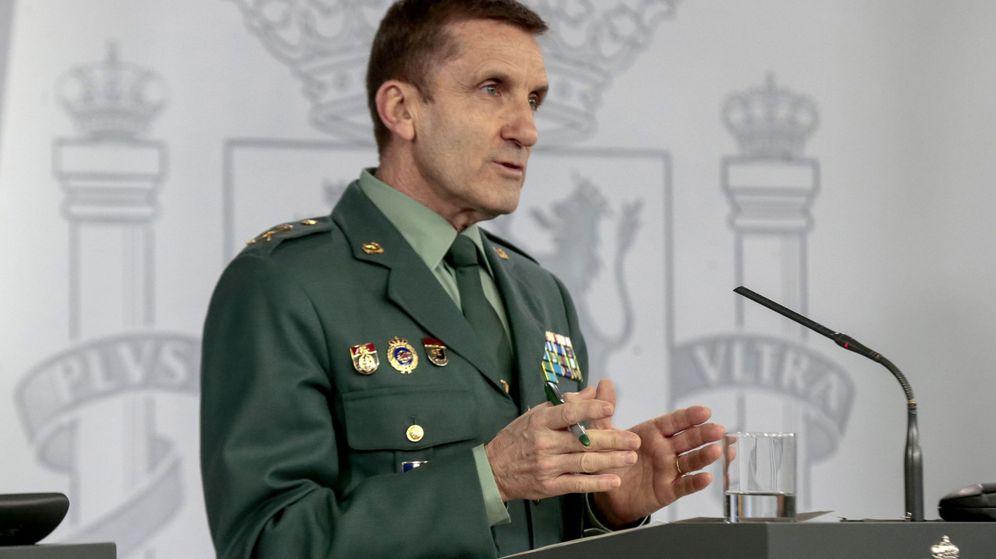 Foto: José Manuel Santiago, jefe del Estado Mayor de la Guardia Civil. (EFE)