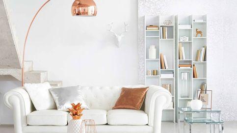 Las estanterías de Ikea y Maisons du Monde ideales para un salón pequeño