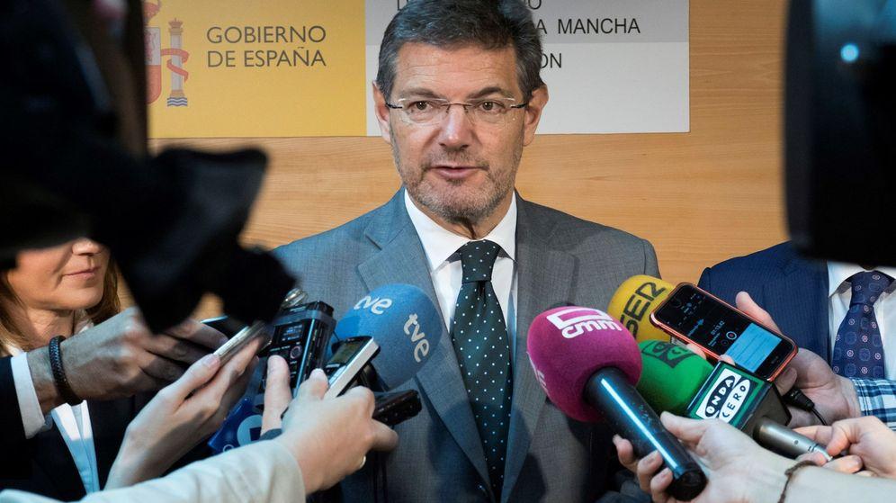 Foto: El exministro de Justicia Rafael Catalá. (EFE)
