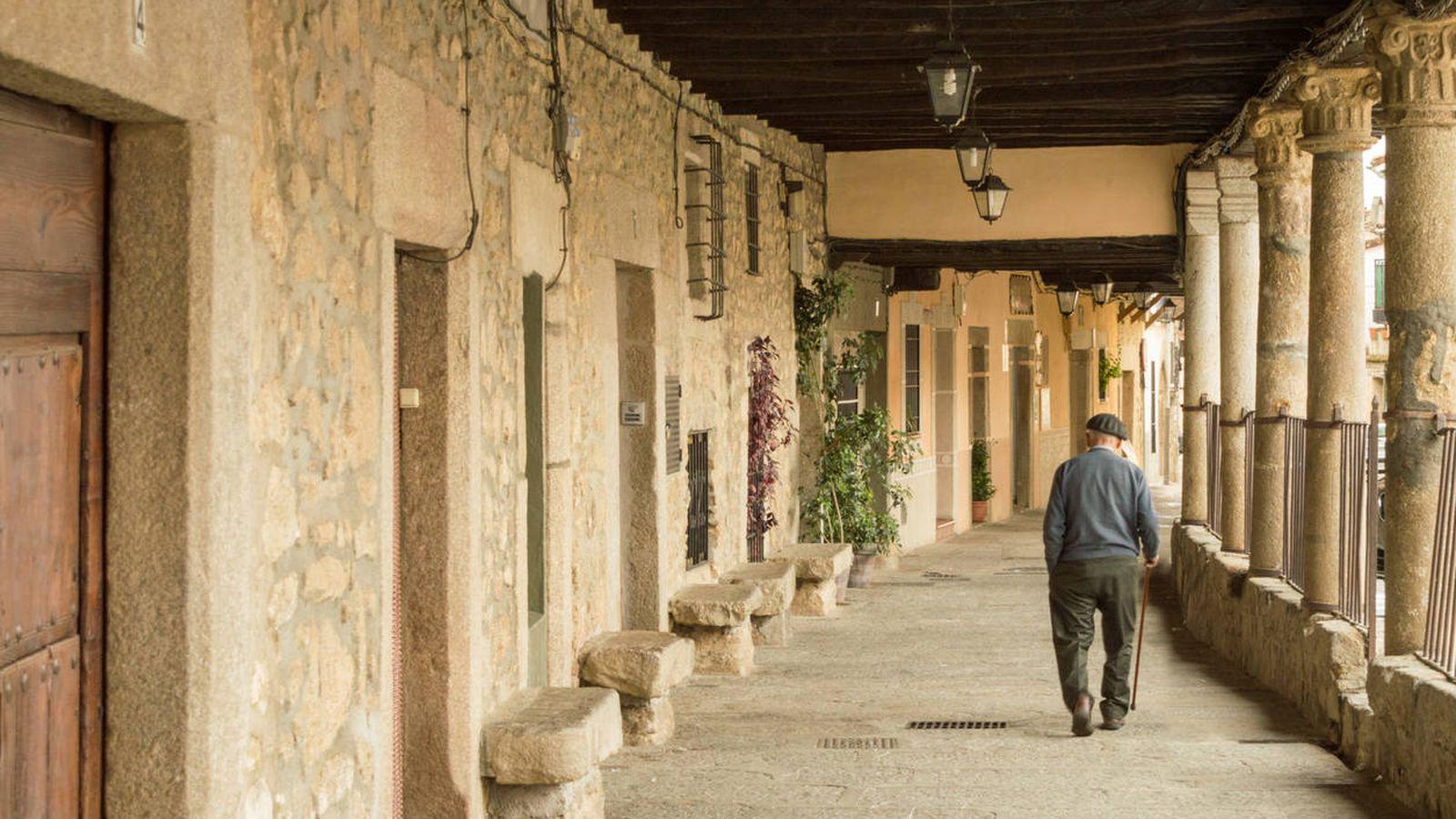 Foto: Cuacos de Yuste, en Cáceres (Extremadura). (Foto: iStock)