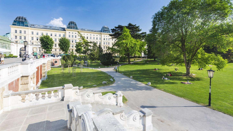 Parque Burggarten (Fuente: iStock)