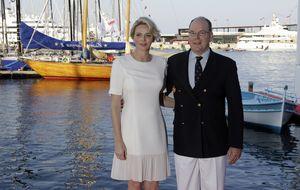 La princesa Charlène de Mónaco ingresa para dar a luz a sus gemelos