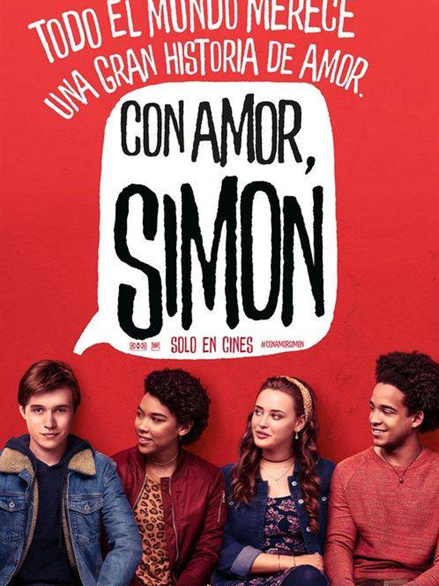 Cartel de 'Con amor, Simón'