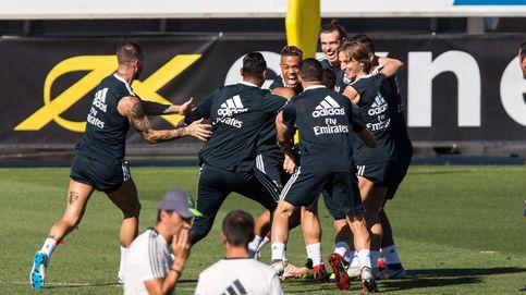 Los nuevos ingresos del Madrid: patrocinar la camiseta de entrenamiento... y la manga