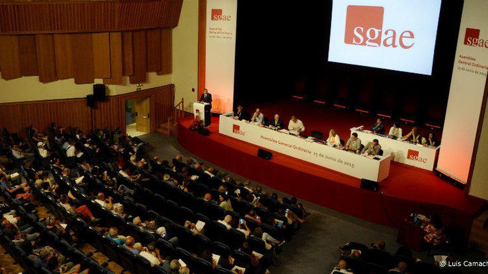 Foto: Imagen archivo de una asamblea de la SGAE (Luis Camacho)