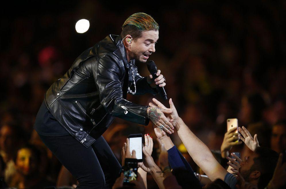 Foto: El cantante colombiano J. Balvin (EFE)