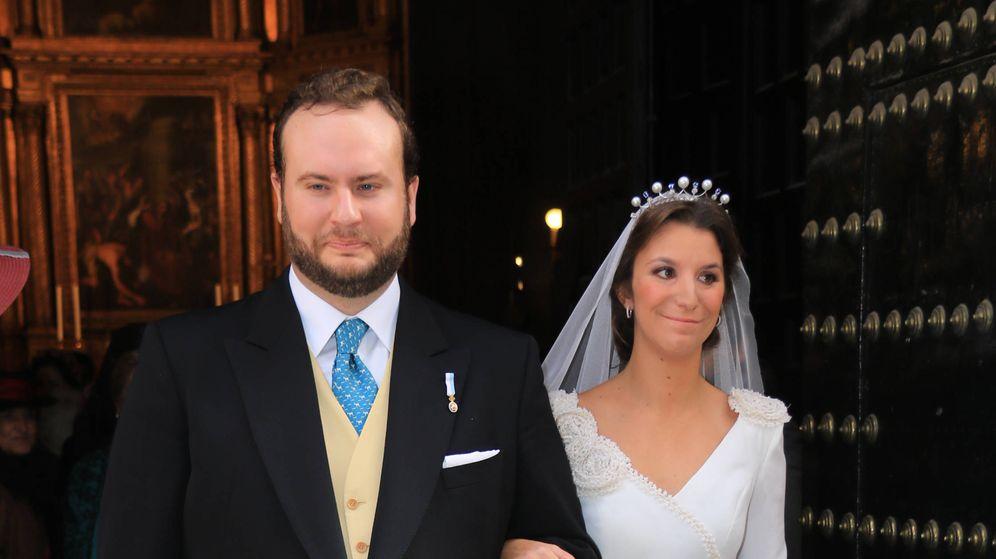 Foto: Casilda e Ignacio, felices el día de su boda.