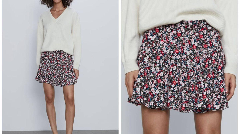 Nueva falda de Zara. (Cortesía)