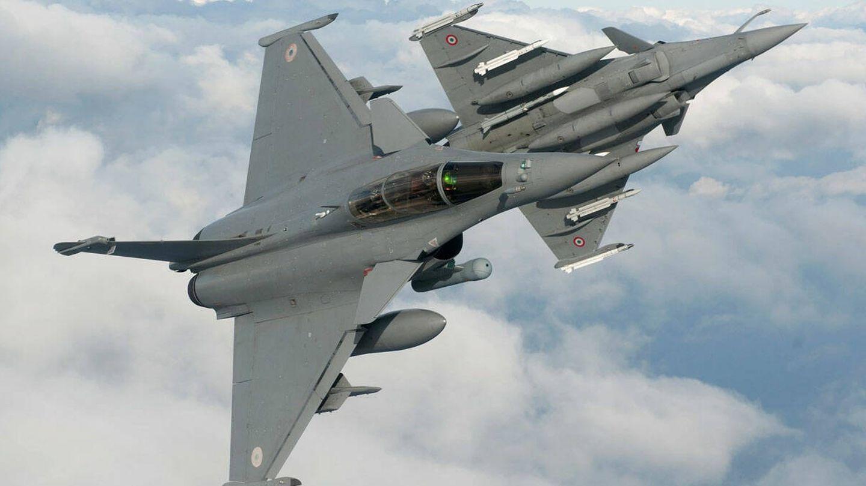 Aviones franceses Rafale. (Dassault)