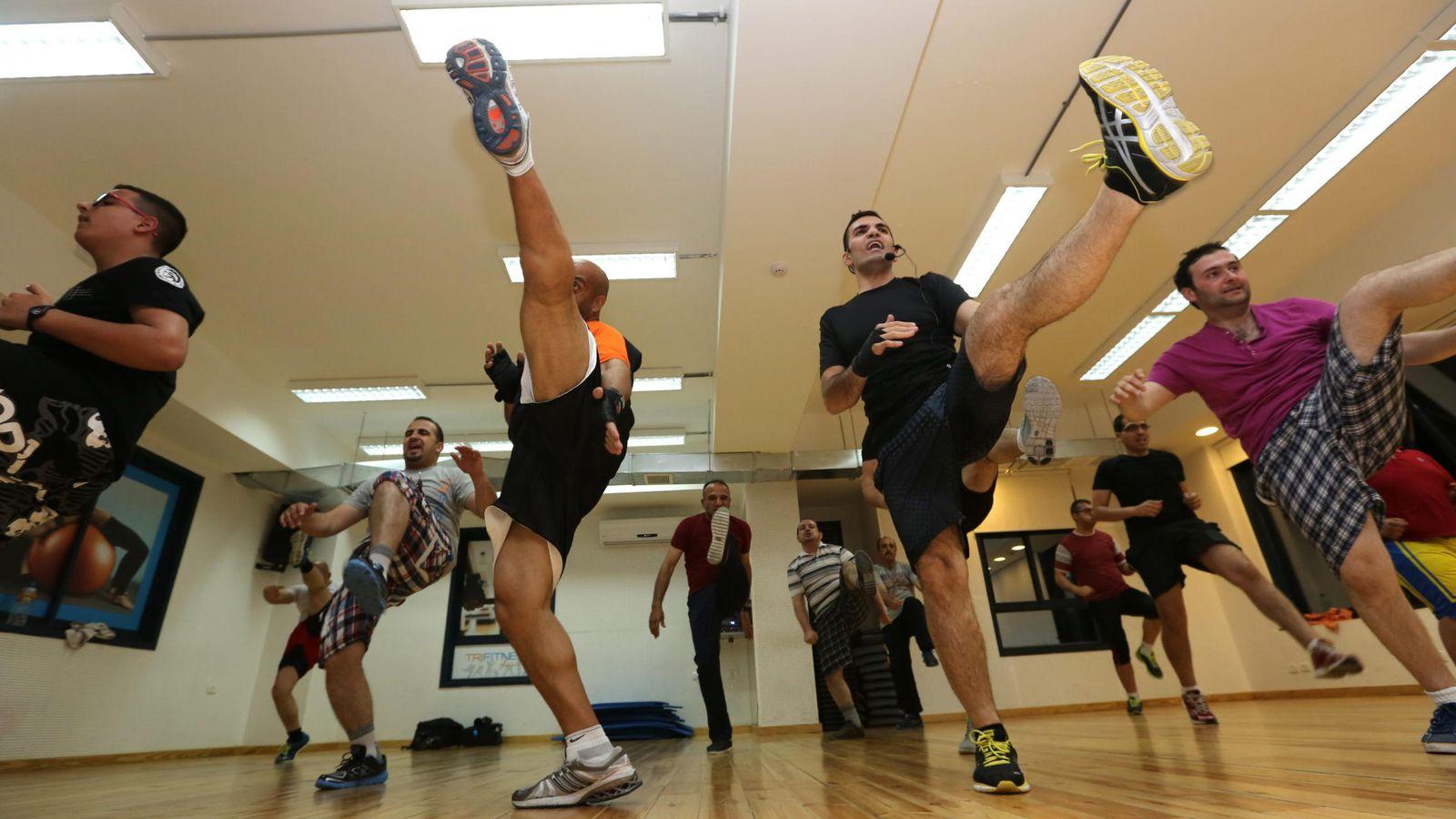 Foto: Artes marciales mixtas. (EFE)