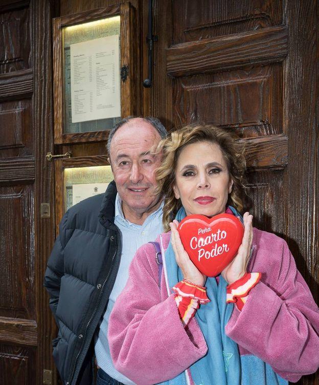 Foto: Luis Miguel Rodríguez y Ágatha Ruiz de la Prada. (Elio Valderrama)