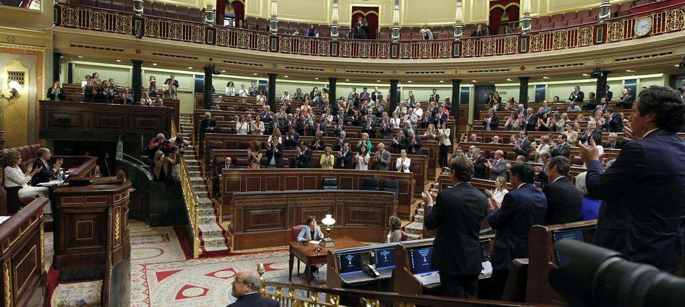 Foto: El Pleno del Congreso de los Diputados (Efe)