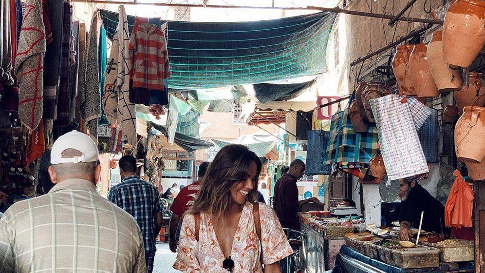 Foto: Lara Álvarez en Marrakech. (@laruka)