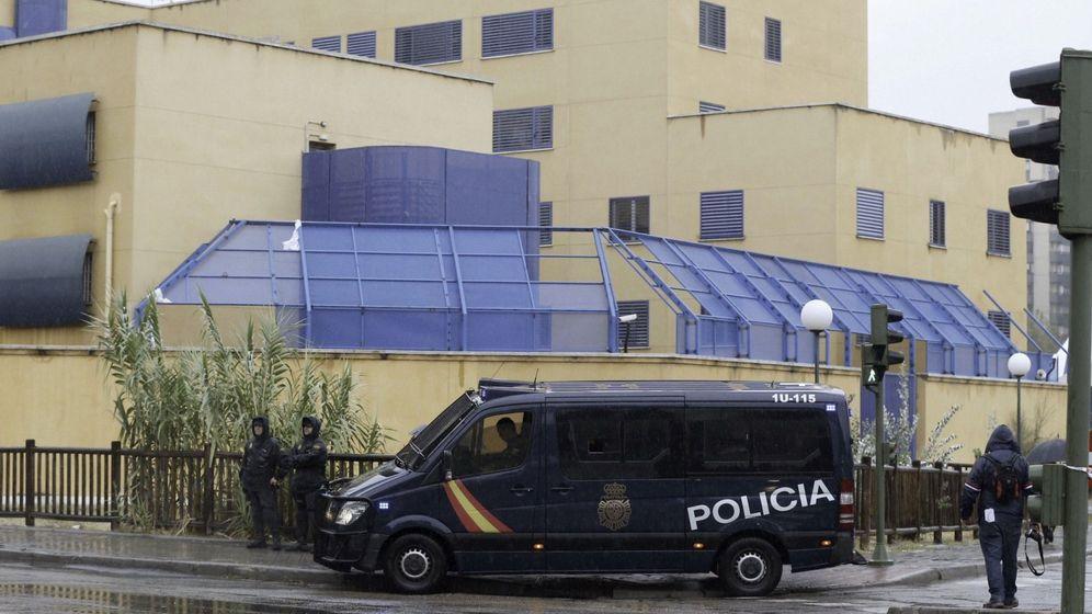 Foto: el Centro de Internamiento de Extranjeros (CIE) de Aluche, en Madrid (Efe)