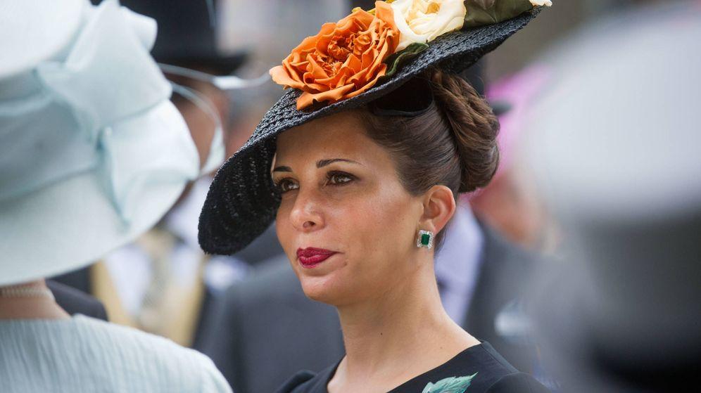 Foto: La princesa Haya de Jordania, en las carreras de Ascot. (Getty)