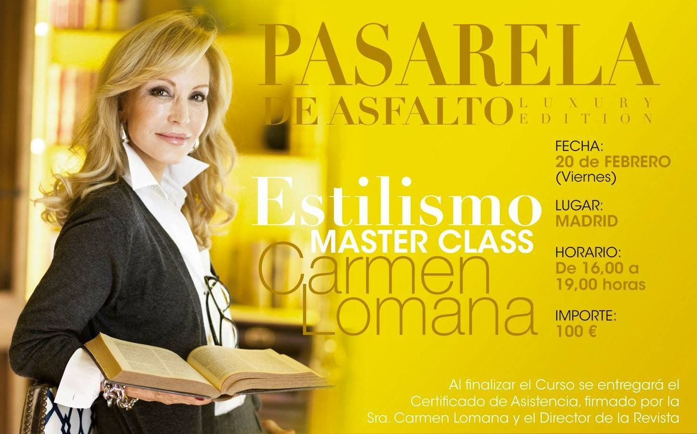 Foto: Carmen Lomana, 'coach' de estilo y lujo por 33 euros la hora