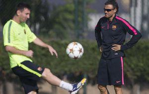 Luis Enrique y Messi deben firmar una tregua para no tirar ya la Liga