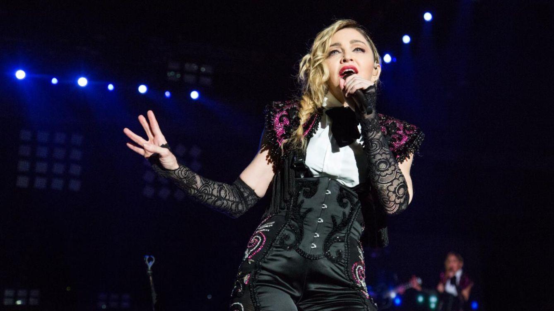 Foto: Madonna durante un concierto (Gtres)