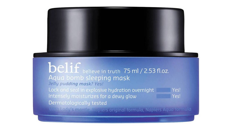 Acqua Bomb Sleeping Mask de Belif.