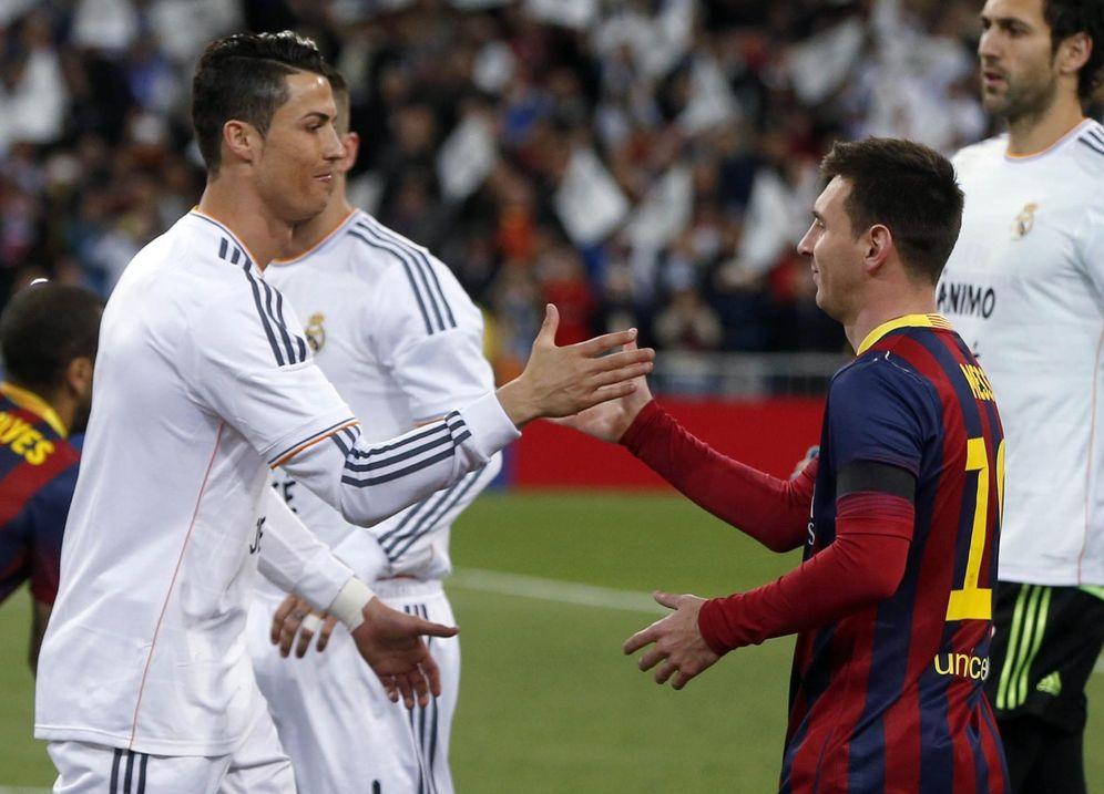 Foto: Cristiano Ronaldo y Messi. (Reuters)