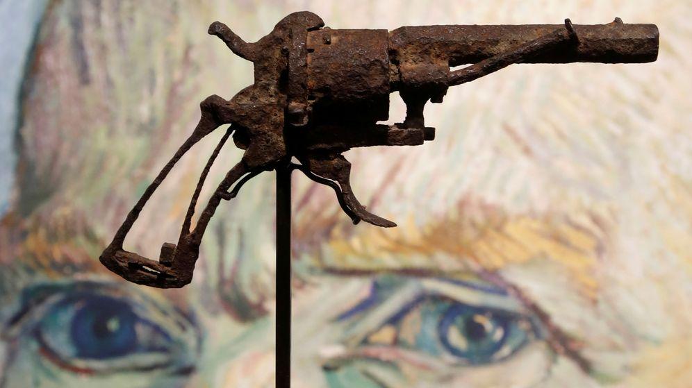 Foto: Arma con la que supuestamente se suició Van Gogh. (Reuters)
