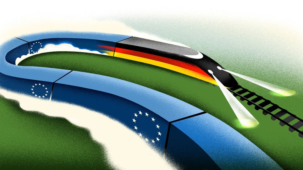 Foto: Alemania, la locomotora de Europa. (Raúl Arias)