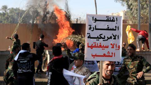 Cientos de manifestantes iraquíes asaltan la embajada de EEUU en Bagdad