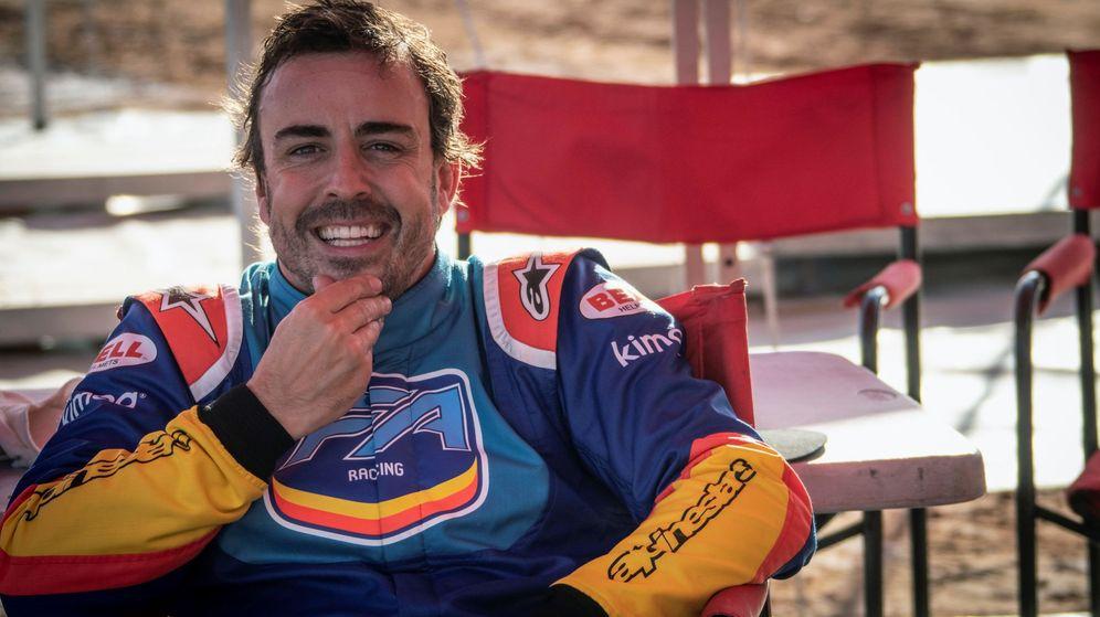 Foto: Fernando Alonso probará el MCL34.