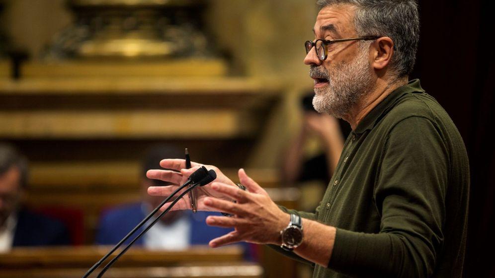 Foto: El diputado de la CUP Carles Riera. (EFE=