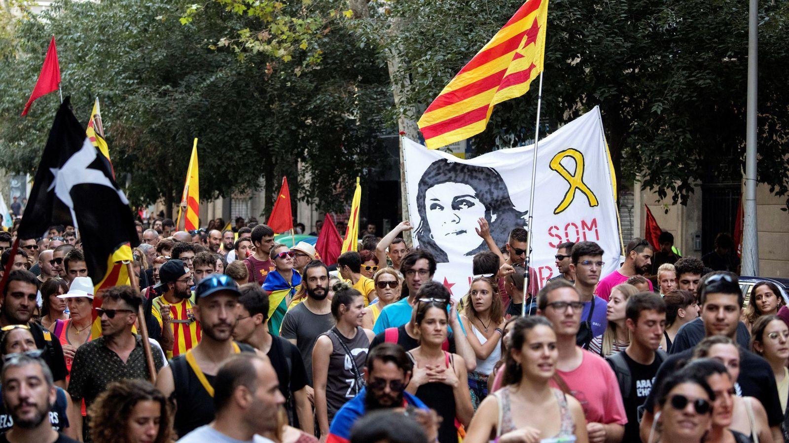 Foto: Manifestación de la Diada del año pasado. (EFE)
