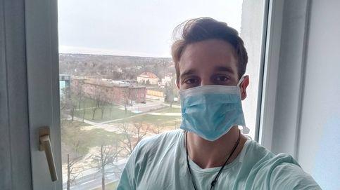 Mira mamá, soy famoso: el Erasmus de Medicina contagiado de coronavirus